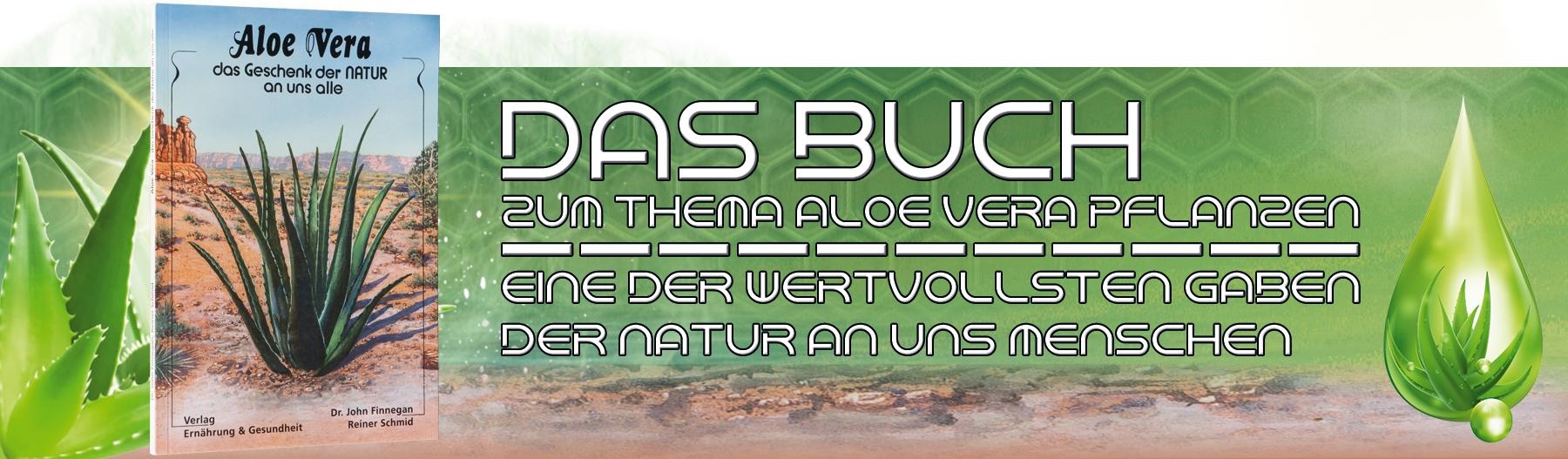 Das Buch zur Aloe Vera Pflanze